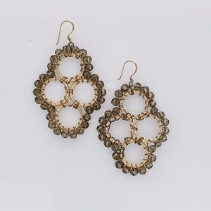 Jewelry - Gold Wire Wrapped Statement Earrings